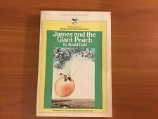 James And The Giant Peach By Roald Dahl (paperback, 1980)