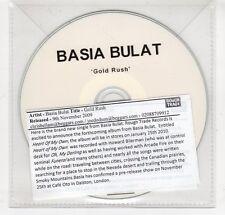 (GO24) Basia Bulat, Gold Rush - 2009 DJ CD