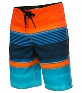 O'Neill Men's Catalina Avalon Board Short - ORG-36, Brisbane Orange, Size 36