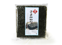 Double Roasted Seaweed Sheets - Dried Sushi Seaweed Rolls - 2 packs, 100 sheets