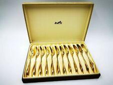 Rare HERMES SIlver Spoon Moka Coffee Set 12 Spoons Made In France AO01