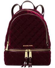 c66d3b2ca909 MICHAEL Michael Kors Rhea Zip Medium Velvet Zip Backpack Plum