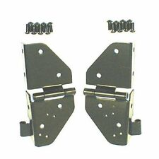 Jeep Cj Yj Wrangler 76-95 Black Windshield Hinges Pair  X 11209.01