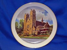 1986 Ltd Ed Original Cathedral of the Madeleine Utah Collection Plate Al Rounds