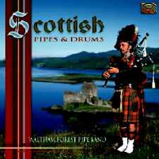 SCOTTISH BAGPIPES & DRUMS - WALTHAM FOREST BAND ** BRAND NEW SEALED CD **