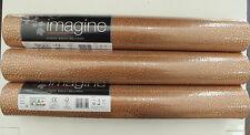 3 Rollen eleganteTapete Arthouse Imagine 673100  Eldora Kupfer-Taupe Metallic