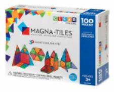 Magna-tiles 04300 100pc Clear Set