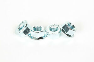 M5 M6 M8 M10 M12 M16 M20 M24 M27 M33 Hex, Nyloc & Flange Nuts Zinc / Galv Plated