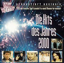 HITBREAKER PRÄSENTIERT : DIE HITS DES JAHRES 2000 / 2 CD-SET - TOP-ZUSTAND