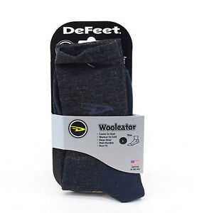 DeFeet Wooleator HiTop Sock, Black, Large
