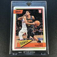 TRAE YOUNG 2018 PANINI CLASSICS #665 BLUE PARALLEL ROOKIE RC #'D /99 HAWKS NBA