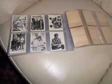 THE BEATLES NEMS GUM TRADING CARDS A & BC COMPLETE FIRST SERIES SET 1-60 1963 !