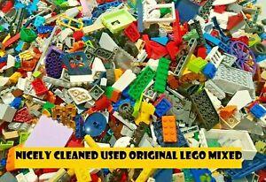 LEGO Bundle Used Mixed Parts Pieces Bricks Wheels Axles Plates Technic, JobLot