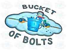 Bucket of Bolts Nose Art Graphics