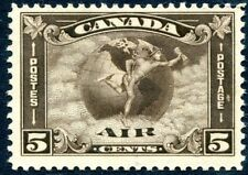 CANADA-1930 5c Deep Brown Air Stamp Sg 310  MOUNTED MINT V27249