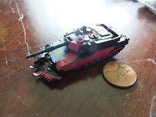 MILITARY Micro Machines M1A1 M1-A1 W/MCBS WMCBS GI JOE RED BLACK