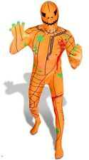 Jack O'Lantern Second Skin Suit - Zentai Halloween Morph Zombie Pumpkin Costume
