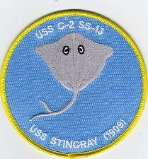 USS Stingray C-2 SS-13 - BCPatch - Cat No. C7126 - Submarine