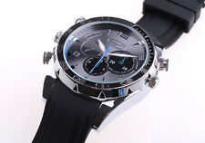 MINI DVR Camcorder 32GB Spy Hidden HD Wrist Watch Camera IR Night Vision Watch