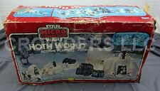 Star Wars ESB Micro Collection Hoth World Action Playset BOX ONLY Kenner 1982