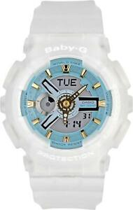 Casio Ladies BA-110SC-7AER Baby-G World Time Alarm 100m W/R Official Stockist