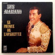 """LUIS MARIANO """"LE PRINCE DE L'OPERETTE"""" - VG++/EX - COFFRET 3 X 33 TOURS"""