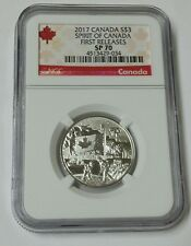 2017 S$3 NGC Canada Spirit Of Canada First Releases SP 70