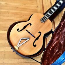 Gretsch guitar Synchromatic archtop acoustic guitar c 1953 quo Blonde original