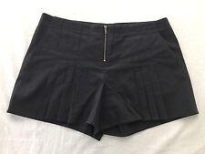 BCBG  MAX AZRIA Godet Pleated Culotte Shorts Gray Size 06