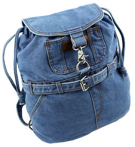 WESTERN-SPEICHER Jeans Backpack City Blue