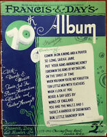 Francis & Day 'S 70th Album, Klavier, Akkordeon, Ukulele & Gitarre 1943