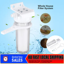 """Whole House Water Filter System 10"""" + Housing Wrench and Bracket Replecement"""