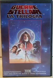 Star Wars Trilogia Cofanetto VHS