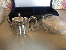 Goddinger Silverplate  Georgian Style Teapots Shaker Set in Nordstrom Case NIB
