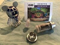 Disney Galaxys Edge Star Wars White Kyber Crystal Chirrut Îmwe Voice + BONUSES