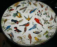 Vtg Round Springbok Bird Puzzle 1965 Songbirds Circular Dan Eckelberry -H #