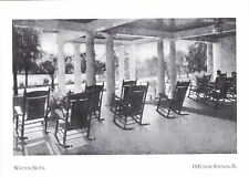 """The Walton Hotel"" (aka;Hotel Chautauqua) Springs, Florida (#190) {Postcard}"