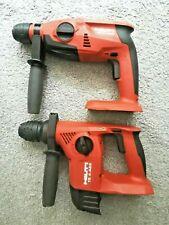 Hilti TE 4-A22 or TE 2-A22 Cordless Rotary Hammer Drill