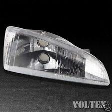 1995-1997 Dodge Intrepid Headlight Lamp Clear lens Halogen Passenger Right Side