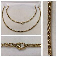 COLLANA IN ORO collier 333 COLLANA IN ORO geldgold Collana in oro 8 carati 55 cm