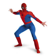 Adult Mens Marvel Spider-Man Hero Deluxe Muscle Costume
