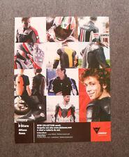 [GCG] M412 - Advertising Pubblicità -2006- DAINESE COLLECTION , VALENTINO ROSSI