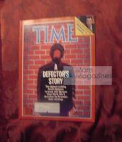 TIME magazine February 11 1985 Feb 2/11/85 SOVIET UNION Defector