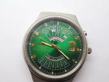 orient automatic watch word time calendar new aus 1970 ungetragen voll function