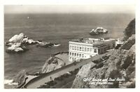 RPPC San Francisco CA Cliff House and Seal Rocks California Real Photo Postcard