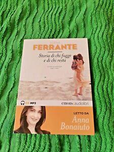 L'amica geniale Storia di chi fugge e di chi resta Ferrante Elena Audiolibro