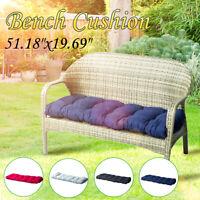 51'' Garden Bench Cushion Outdoor Patio Seat Pad Chair Seat Swing Mat Furniture