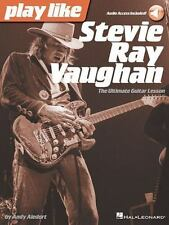 Play Like Stevie Ray Vaughan : The Ultimate Guitar Lesson Book with Online...