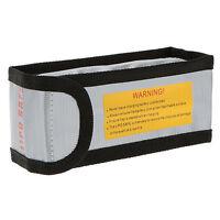 15 * 6.4 * 5cm Silver High Quality Glass Fiber RC LiPo Battery Safety Bag S S6E9