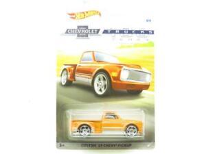 Hotwheels Custom 69 Chevy 100th Anniversary 8/8 Long Card 1 64 Scale Sealed New
